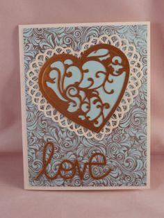 Uniquely Me: A Blue Valentine Card?