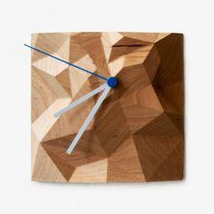 Ahornholz Block Clock - Klein von Such + Such | MONOQI