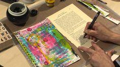 Art Journaling 6 - Junk It Up! (+playlist)