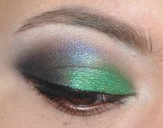 Jungle green eyes with Emerald Bliss by BFTE