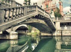Ljubljana, Slovenia...been here, but I would go again to get to know it a little better