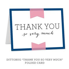 Wedding Thank You Cards | Dittobug Wedding Invitations | Utah ...