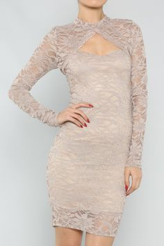 Laced Tube Dress #wholesale #clothing #fashion #neutral #winterwhite #winter #white #love #ootd #wiwt #shorts #skirts #dresses #tanks #tops #pants #jackets #outerwear #trousers #leggings