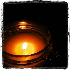 Bees Wax Candle in a Glass Jar - Simple and Loverly