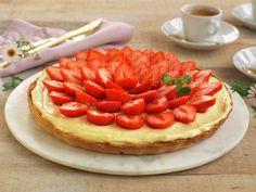 Eggekrem med gelatin (til kaker) - MatPrat Pavlova, Gelatin, Nom Nom, Waffles, Cheesecake, Food And Drink, Yummy Food, Baking, Breakfast