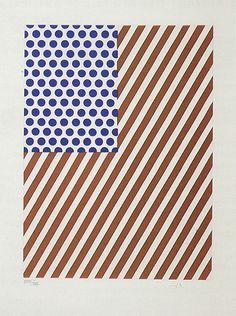 Illustration for 'Amerique' by Roy Lichtenstein