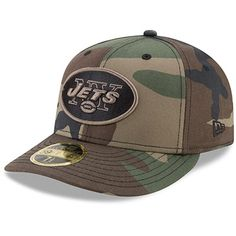 best sneakers 67540 5d392 Men s New York Jets New Era Woodland Camo Low Profile 59FIFTY Fitted Hat,  Sale