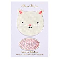 Meri Meri UK Iron On Patches - Cat