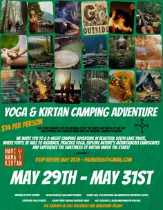 Meditation camping retreat, South Lake Tahoe. Come for all or part of this amazing little meditation retreat.