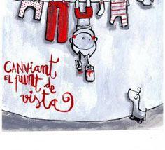 canviant el punt de vista Turu, Sentences, Words, Drawings, Illustration, Quotes, Posters, Search, Projects