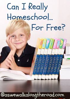 Can I Really Homeschool For Free? | As We Walk Along the Road: Can I Really Homeschool For Free?
