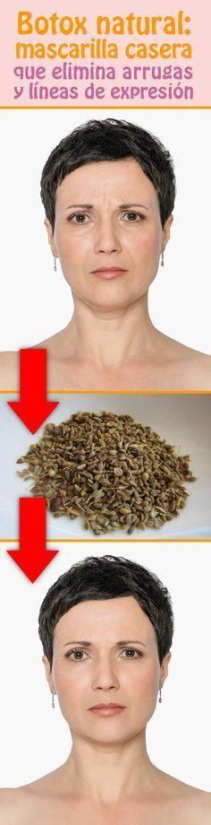 Botox natural: mascarilla casera que elimina arrugas y líneas de expresión #rejuvenecimiento #facial #mascarilla #botox #arrugas #eliminar