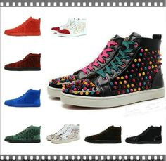 So Cheap!! $76.18 Christian Louboutin Shoes! new handmade luxury Men women  unisex fashion � Casual PartyRed BottomsChristian ...