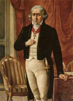"""""""José Bonifácio de Andrada e Silva"""".  (Santos, 13/Junho/1763 - Niterói, 06/Abril/1838). (by Benedito Calxto)."""