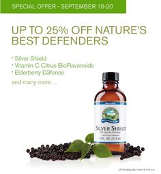 Save on Silver Shield and other products for the immune system. Go here: http://www.naturessunshine.com/us/shop/weeklyspecials/?v=menu