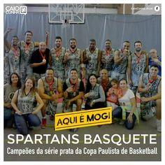 AQUI É MOGI!!! O time mogiano Spartans Basquete foi campeão da série prata da Copa Paulista de Basketball. A final, realizada no Ginásio do Morumbi, contra o dono da casa, o São Paulo FC Bulldogz