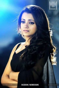 Beauty in black saree South Actress, South Indian Actress, Katrina Pic, Trisha Saree, Trisha Actress, Trisha Photos, Hollywood Actress Pics, Black Saree, Indian Celebrities