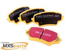 Front Brake Pads, EBC Yellowstuff, MX5 Mk3 3.5