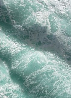 There is something so mesmerizing about this angry sea. Love it. Love the color. Love the energy.