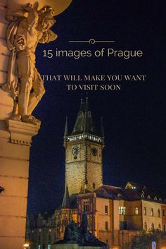 !5 images of Pragues attractions and landscapes that will make you want to visit the Bohemian capital of the Czech Republic