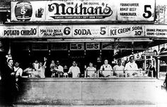 Nathan's, 1920's, From Untapped New York [link]