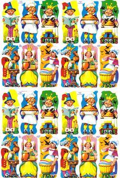 Nursery Rhymes Scraps Vintage Baby Pictures, Paper Scraps, Vintage Nursery, Decoupage Paper, Nostalgia, Old Toys, Nursery Rhymes, Vintage Paper, Vintage Prints
