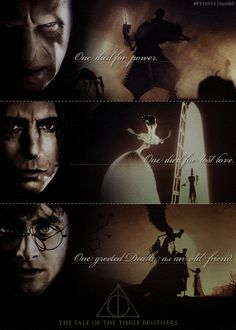 Tale of the Three Brothers from Beedle the Bard - Harry Potter