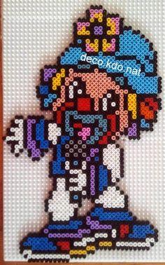 Clown hama perler beads by Deco.Kdo.Nat