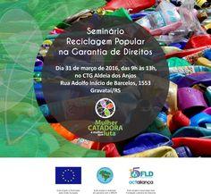 Convite Reciclagem Popular