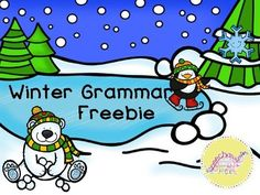 Winter Grammar Freeb