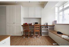 仙岩路_H小姐_古典風設計個案—100裝潢網 Kitchen Cabinets, Table, Furniture, Design, Home Decor, Decoration Home, Room Decor, Kitchen Base Cabinets, Tables