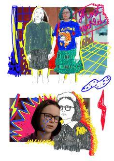1 Arte Sketchbook, Fashion Sketchbook, Fashion Sketches, Sketchbook Layout, Foto Fantasy, Photocollage, Sketchbook Inspiration, Graphic Design Inspiration, Picsart