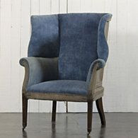HEPPLEWHITE WING CHAIR  Ralph Lauren