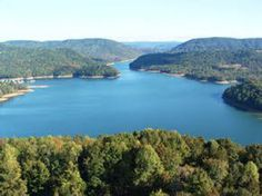 the lakes around Knoxville, Tennessee...