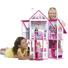 Barbie Dream House Episodes TV Houses Home Barbie Doll House, Barbie Dream House, Best Barbie Games, Episodes Tv Series, Malibu Homes, Baby Alive Dolls, Beautiful Barbie Dolls, Electronic Toys, School Supplies