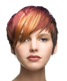 Love orange in the front. Love how it is bold, but well blended. Would like it more with other auburn tones or lighter browns or blonde rather than the blood red.