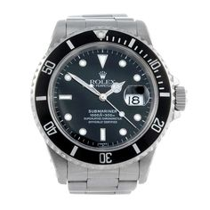 ROLEX - a gentleman's Oyster Perpetual Date Submariner bracelet watch. Circa 1997. Stainless steel c
