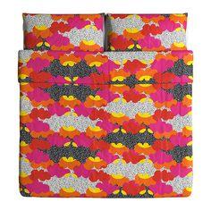 TOFSVIVA Duvet cover and pillowcase(s) - King - IKEA