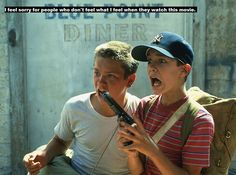"""River Phoenix & Wil Wheaton - """"Stand by Me"""" (Rob Reiner, 80s Movies, Great Movies, Awesome Movies, Love Movie, Movie Tv, Movie Scene, Movies Showing, Movies And Tv Shows, Os Goonies"""