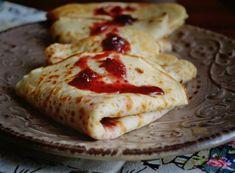 Clatite de post Deserts, Pizza, Ice Cream, Cheese, Homemade, Snacks, Cake, Ethnic Recipes, Food