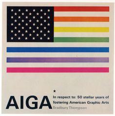 AIGA book by Bradbury Thompson