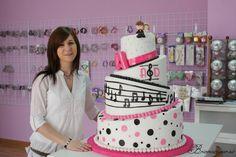Tarta boda musical // Musical Wedding Cake  http://bricoazucar.blogspot.com.es/