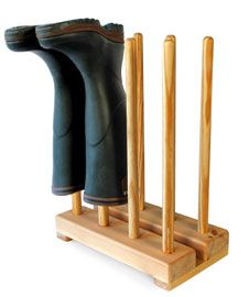 welly boot stand for 4 pairs of boots