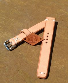Handmade Leather Watch Strap (Band) 20mm