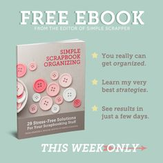 Free eBook: Simple Scrapbook Organizing