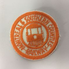 Montreal and Southern Counties Railway Canadian Railways Patch CPR Streetcar Train Map, Cost Of Goods, Montreal, Southern, Patches, Badges, Etsy, Photos, Free