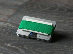 N Wallet Aluminium #07 - light green