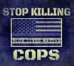 i am a proud supporter of #bluelivesmatter!
