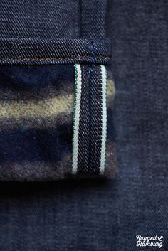 Lee 101 Z with Alaska blanket lining from FW12 collection.