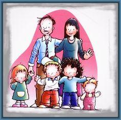 Imagenes de familia para niños